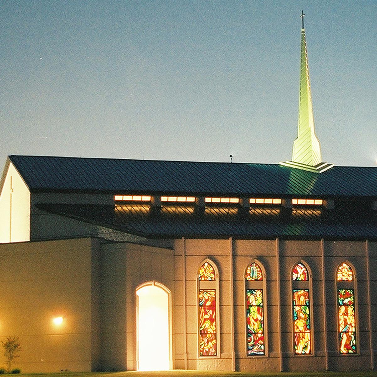 Church architectural construction