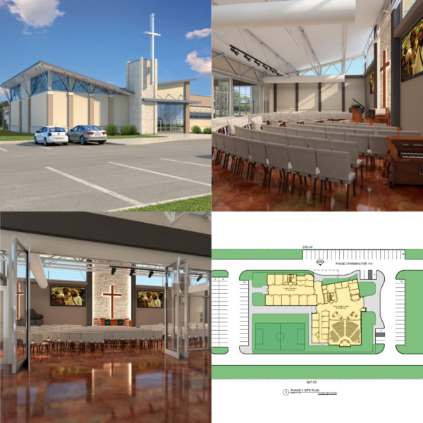 church building design McKinney,TX